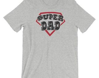 Super DAD Short-Sleeve Unisex T-Shirt