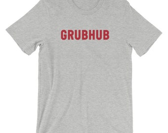 Grubhub Short-Sleeve Unisex T-Shirt