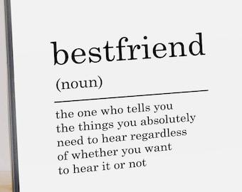 description best friend