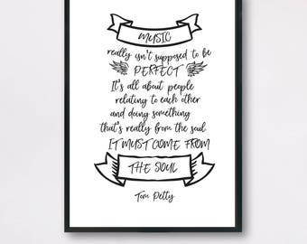 Music Quote Etsy