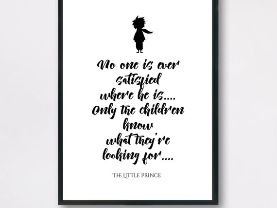 Little Prince Quotes | The Little Prince Quotes Little Prince Illustrations Etsy