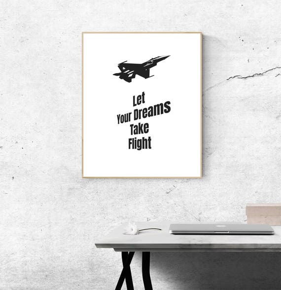 Aviation Quote Flying Quotes Imagination Quote Pilot Quote Etsy Custom Flying Quotes