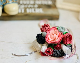 Felt Wedding Flowers