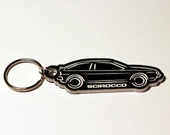VW Scirocco Mk2 Keyring