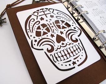 Sugar Skull Stencil