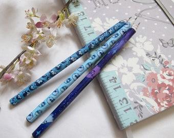 THREE Undertale Themed Pencils