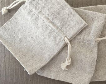 Gift POUCH in linen for all type of jewelry