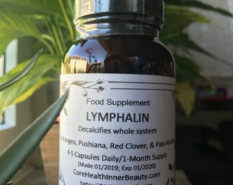 LYMPHALIN Decalcifies Whole System inspired by dr sebi | Etsy
