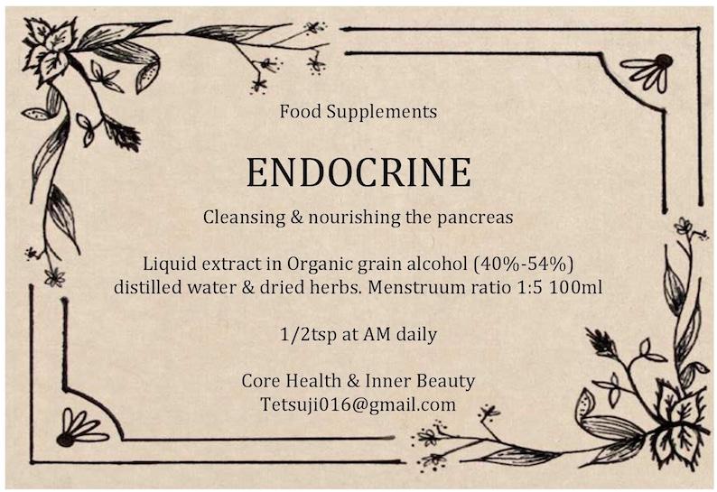 Endocrine - Cleansing & Nourishing the pancreas (inspired by dr sebi)