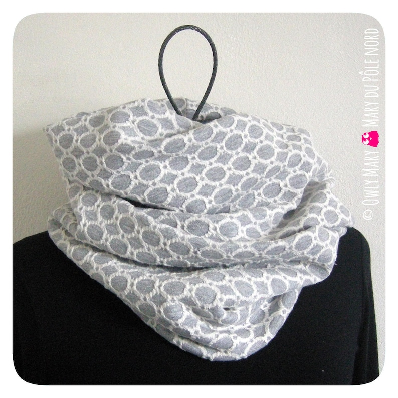 Adult Snood women men teens double previously mesh waffle image 0