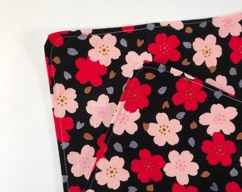 Pink Asanoha Set of Two Sandwich Wrap