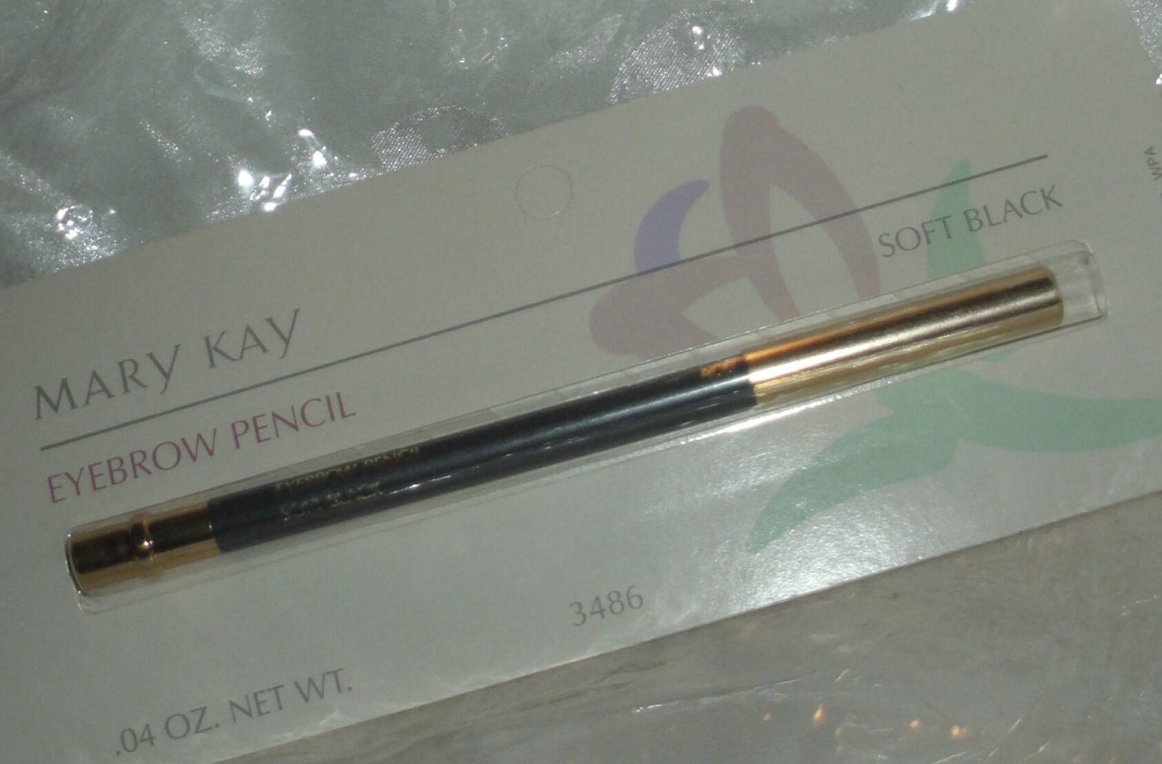 Mary Kay Soft Black Eyebrow Wood Pencil Eye Brow Full Size Etsy