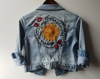 Custom Embroidered Denim