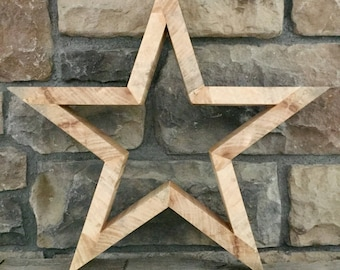 Small Wooden Star