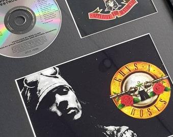 Wall Stickers SLASH GUNS N ROSES Musique 80 S Rock Art Décalques Vinyle Décor Chambre HOM