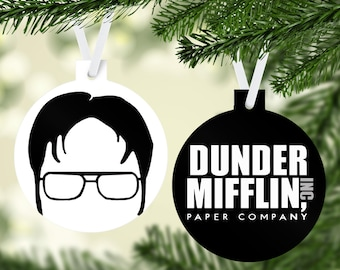 The Office Christmas Ornament Dwight Schrute with Jello Mold