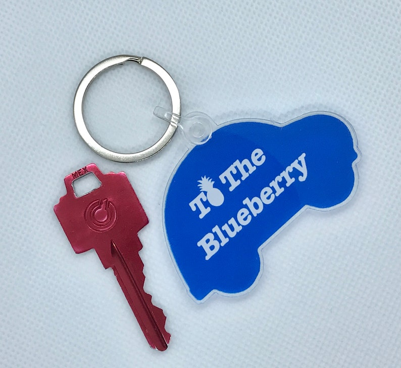 Psych - TV Show To the Blueberry Acrylic Keychain