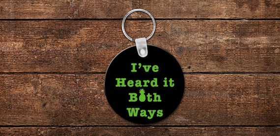 Psych - TV Show Be My Gus Heart Keychain