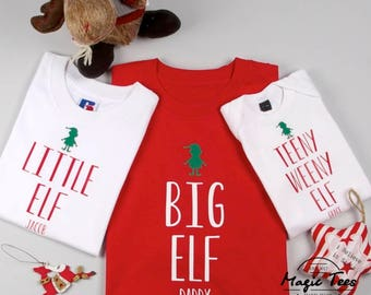 Elf pajamas family  f506a9445