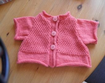 Wool vest size 1 month