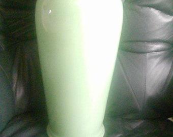 extra large green vase Portugal maker