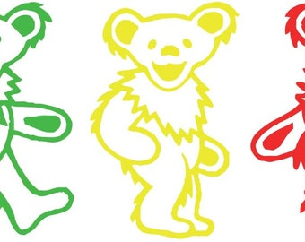 Grateful Dead Bears Etsy