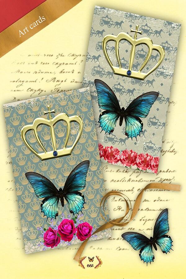 royal art card set of 2 each 4 x 6 inch printable stationary