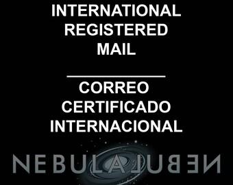 International registered mail