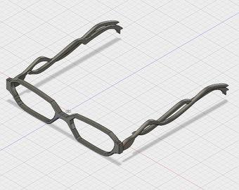 Bayonetta 2 glasses - 3D files