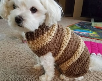 Crochet Dog Clothes Etsy