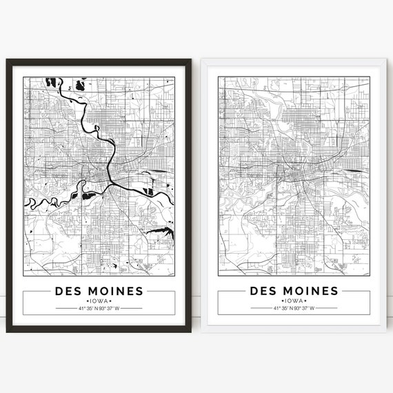 Des Moines map, Iowa, City map, Digital Poster, Printable, Wall art, on us map raleigh, us map philadelphia, us map memphis, us map hartford, us map seattle, us map phoenix, us map savannah, us map detroit, us map providence, us map indianapolis, us map minneapolis, us map omaha, us map new york city, us map milwaukee, us map little rock, us map miami, us map louisville, us map iowa, us map las vegas, us map houston,