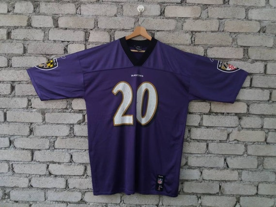 sports shoes 0c651 5ff5f Reebok Baltimore Ravens Ed Reed NFL Jersey