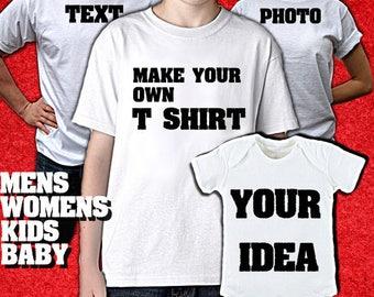 17da744acbaf0 Personalized t shirt | Etsy