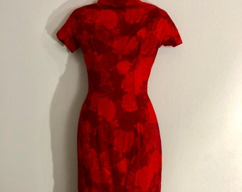 1950s Suzy Perette wiggle dress