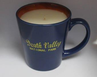 Death Valley Coffee Mug Candle