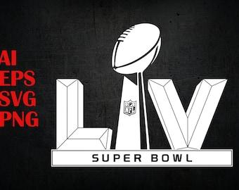 Super Bowl Svg Etsy