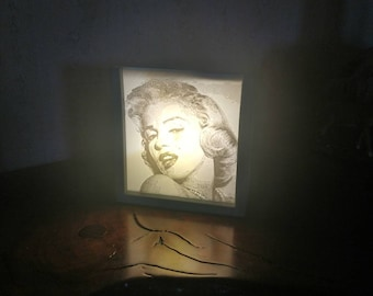 3D Printed Fully Customizable Lithophane Night Light