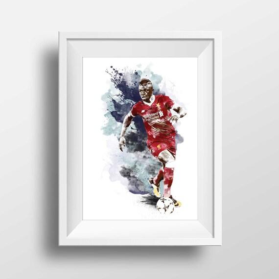 Liverpool FC Trent Alex Arnold Football Poster Print T1562 A4 A3 A2 A1 A0 