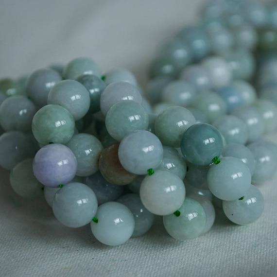 12 mm 100/% naturel un grade jaune jade jadeite pierres précieuses perles Bracelet Bangle