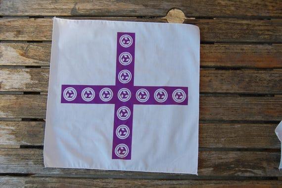Sacred Plus Antahkarana Ancient Healing Symbol Cotton Cloth