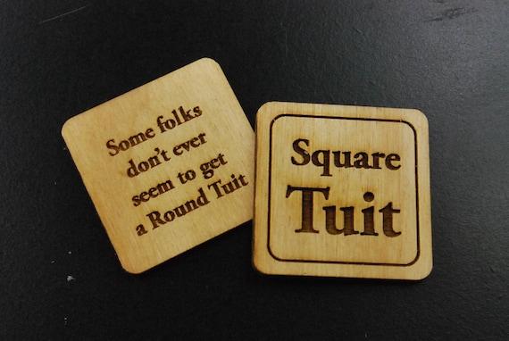 Round TUIT Tokens Multi-Pack 24//set