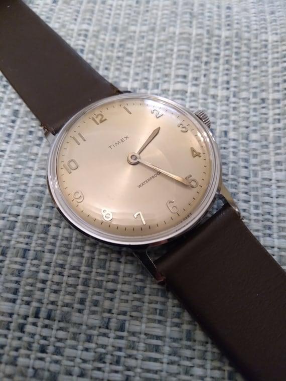 Timex Marlin - 1963, minimalist