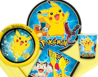Celebrate Your Little Pokemon Master with a Customized Birthday Party In a Box
