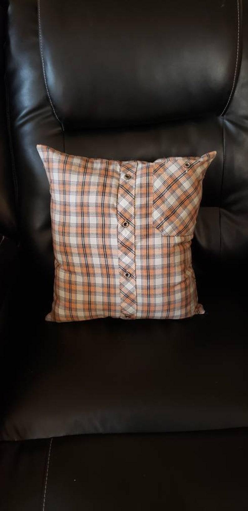 T shirt Pillow Custom Pillow Keepsake Pillow T shirt Memory Pillow Memory pillow