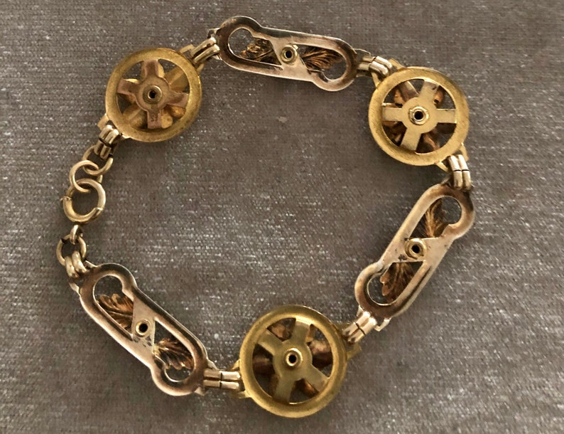 Vintage 120th 12k Gold Filled Bracelet