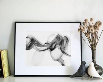 Smoke, Photographic Print, 5x7, 8x10