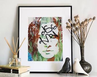 Graffiti, Photographic Print, 11x14