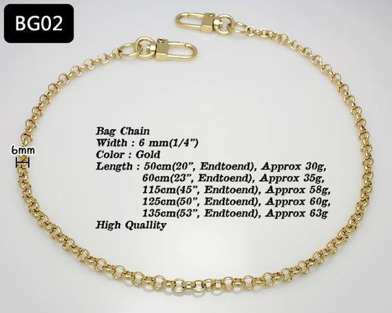 120cm k-craft BG01 Handbag Purse Replacement Chain Strap