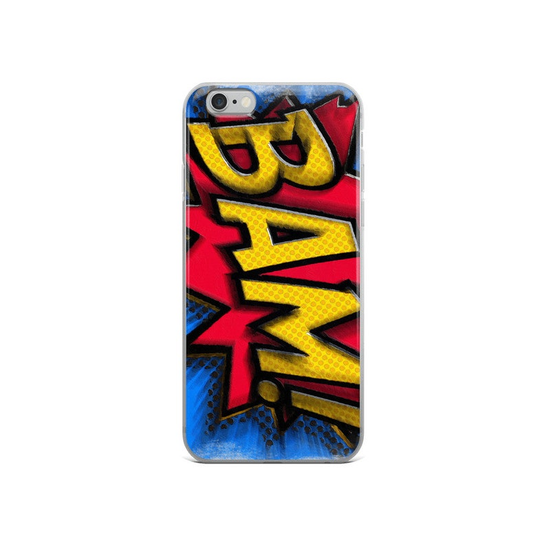 Bam Cartoon Comic Book Comics Comicon Cosplay Pop Art Gift Idea Apparel and  Accessories Gifts iPhone Case