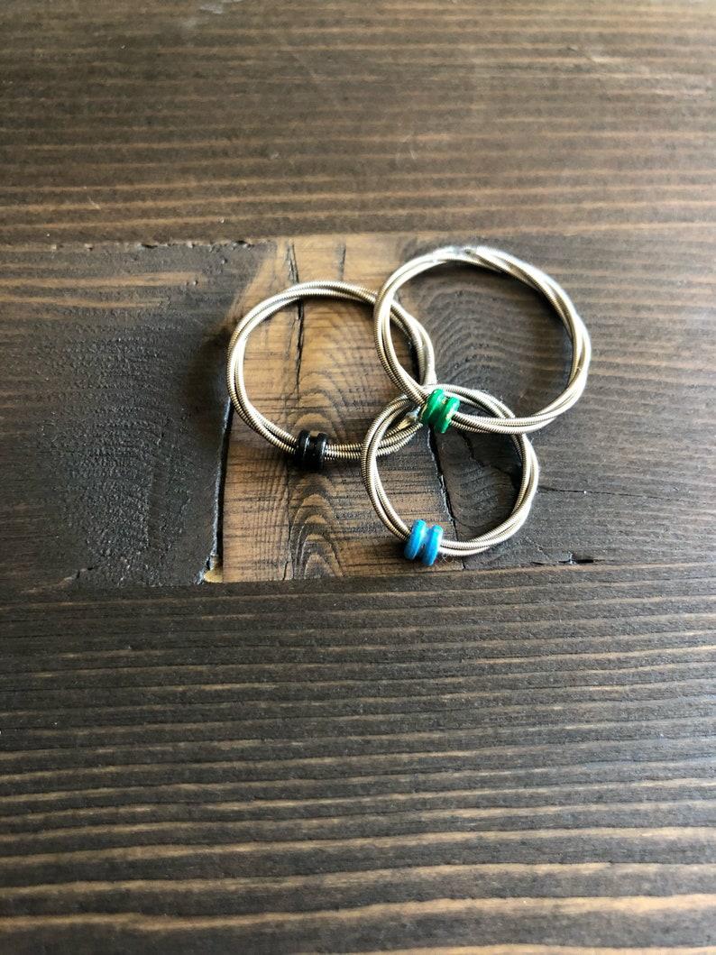 Guitar String Spinner Ring